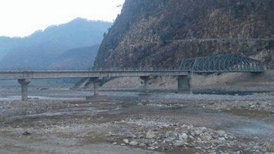 Photo of भेरी नदीमा बन्दै गरेको पक्की पुल अन्तिम चरणमा