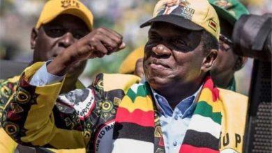 Photo of जिम्बाबेको राष्ट्रपतिमा वर्तमान राष्ट्रपति इमर्सन मान्गाग्वा विजयी