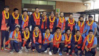 Photo of स्वदेश फर्किए नेपाली क्रिकेट टोली
