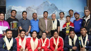 Photo of नेपाली जुडो टोली हंगेरी जाँदै