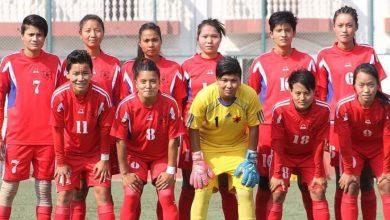 Photo of तेह्रैँ साग : जित्ने मनोबलसँगै महिला फुटबल टोलीको 'ओपनिङ टच'
