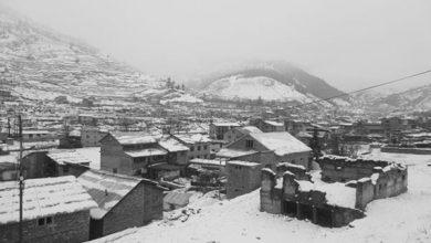 Photo of बाजुरामा हिमपात सँगै वर्षा शुरु