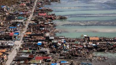 Photo of फिलिपिन्समा कामुरी आँधीबाट ११ जनाको मृत्यु
