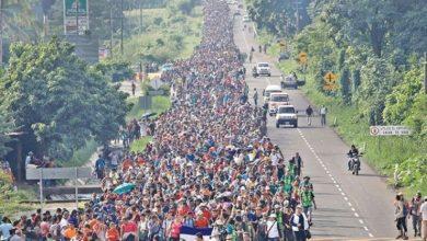 Photo of अमेरिकी सीमातर्फ हिँडेका २ हजार बढी व्यक्ति मेक्सिकोमा पक्राउ