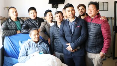 Photo of राष्ट्रिय भलिवल खेलाडी प्रतिभा मालीलाई हेल्प नेपाल क्लबको साथ
