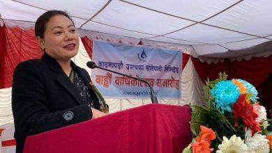 Photo of काठमाडौंबासीको खानेपानी समस्या हल हुने दिन टाढा छैन–मन्त्री मगर