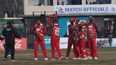 Photo of उद्घाटन खेलमा नै नेपाल ओमानसँग पराजित