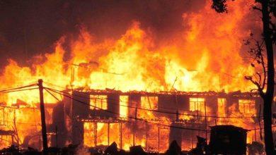 Photo of बाबुले घरमा आगो लगाउँदा १२ वर्षीय र सात वर्षीय छोराको गयो ज्यान