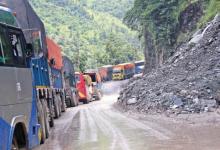 Photo of नारायणगढ–मुग्लिन सडक थप धसिएपछि सवारी एकतर्फी सञ्चालन