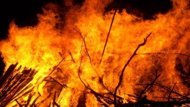 Photo of सप्तरीमा आगलागीबाट चार घर जलेर नष्ट