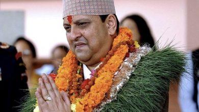 Photo of पूर्व राजा ज्ञानेन्द्रलाई दिल्लीमा रातो कार्पेट