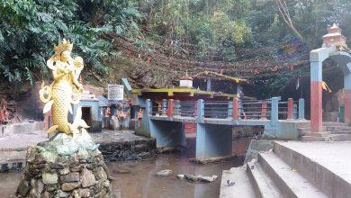 Photo of धार्मिक पर्यटकीयस्थल छाब्दी बाराही मन्दिरमा रहेको पुरानो शंख चोरी