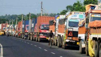 Photo of सीमापारि नै रोकिए मालवाहक गाडी