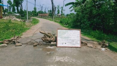 Photo of कोरोना संक्रमण देखिएपछि ओखलढुङ्गाको लिखु गाउँ सिल