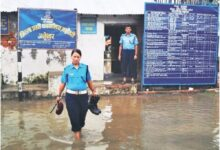Photo of अविरल वर्षाका कारण जलेश्वर कारागार डुबानमा, सुरक्षाकर्मीलाई समस्या