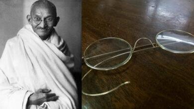 Photo of महात्मा 'गान्धीको चश्मा तीन लाख ४० हजार अमेरिकी डलरमा बेलायतमा बिक्री'