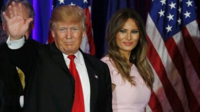 Photo of ट्रम्पकी पत्नी किन समाउन चाहन्नन् श्रीमानको हात ?