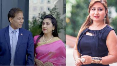 Photo of अञ्जुको गीतमा बेलायतका लागि नेपाली राजदुत डा. दुबसुको जोडी सहित यि ३ रियल जोडीको अभिनय, हेर्नुहोस् भिडियो