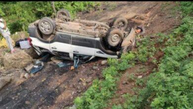 Photo of बुटवलबाट काठमाडौँ आउँदै गरेको स्करपियो दुर्घटनामा ५ जना घाइते