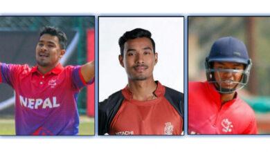Photo of नेपालका तीन  खेलाडीले युएईमा टी–१० लिग खेल्ने