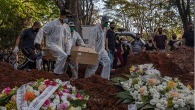 Photo of ब्राजिलमा एक लाख ८९ हजार कोरोना सङ्क्रमितको मृत्यु