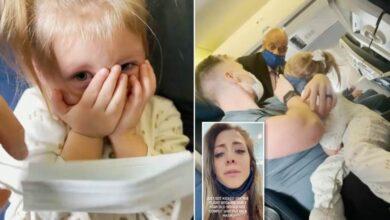 Photo of बच्चीले मास्क नलगाउँदा परिवारै विमानबाट निकालिए