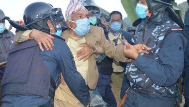 Photo of वरिष्ठ नेता पौडेललाई गिरफ्तारी गरिएको भनी सभापति देउवाबाट आपत्ति
