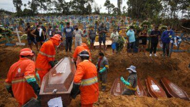 Photo of ब्राजिलमा दुई लाख २२ हजार कोभिड–१९ सङ्क्रमितको मृत्यु