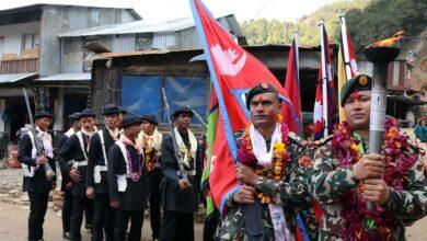 Photo of नेपाल एकीकरणको क्रममा पृथ्वीनारायण शाह हिँडेको बाटोमा सेनाकाे पदयात्रा सुरु