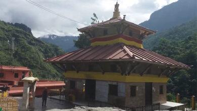 Photo of गलेश्वर मन्दिर पित्तलले छाइने