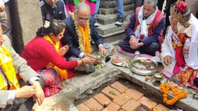 Photo of सेतो मच्छिन्द्रनाथ मन्दिरको पुनर्निर्माण शुरु