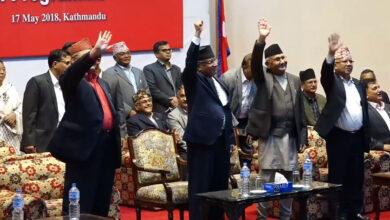 Photo of माधव पक्षको निष्कर्ष : वाम गठबन्धनकै सरकार, माओवादीसँग सहकार्य