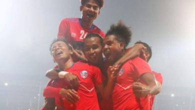 Photo of फुटबल तीन राष्ट्रबीचको प्रतियोगितामा नेपाल विजयी