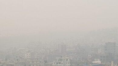 Photo of काठमाडौँमा आज दिउसो आकाश धुम्मिएपछि भयो अँध्यारो