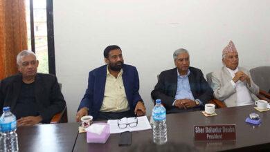 Photo of कांग्रेस पदाधिकारी बैठक बस्दै