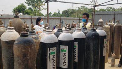 Photo of नुवाकोटको 'हाम्रो अक्सिजन ग्याँस उद्योगले दैनिक सातसय सिलिण्डर अक्सिजन उत्पादन गर्दै,अभाव छैन