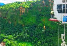 Photo of साहसिक पर्यटक पर्खंदै विश्वकै दोस्रो अग्लो भनिएको बन्जी पुल