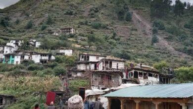 Photo of अविरल वर्षाले हुम्लामा २० घर भत्किए